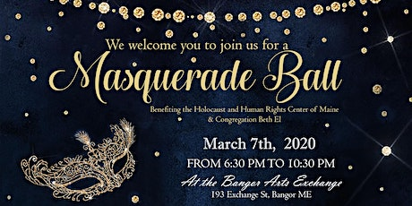 Purim Masquerade Ball and Silent Auction tickets