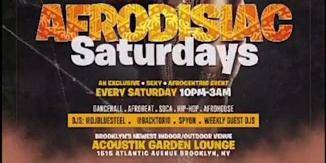 AFRODISIAC SATURDAYS tickets