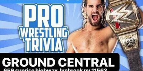 Wrestling trivia night at ground central tickets