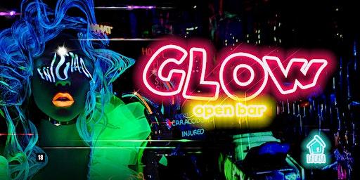Glow: Open Bar // 18 de Janeiro // 22h