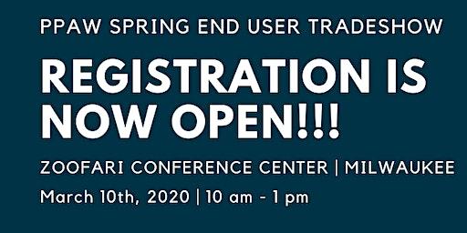 DISTRIBUTORS - PPAW Spring End User Tradeshow Registration