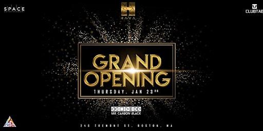 HAVA Grand Opening
