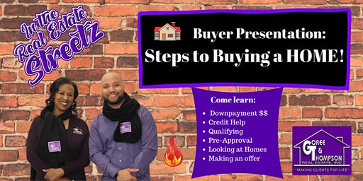 Steps to BUYING a HOME!!