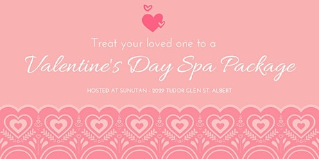 Valentine's SPA Day package tickets