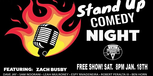 COMEDY NIGHT AT WARPATH PINTS AND PIZZA