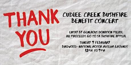 Cudlee Creek Bushfire Benefit Concert tickets