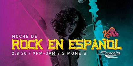 Rock en Español - night at Simone's tickets