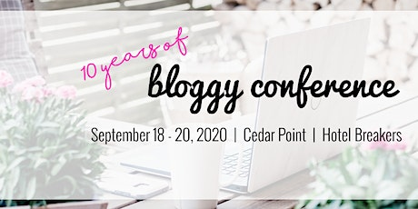 Bloggy Conference 2020 tickets