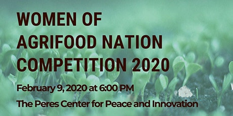 WOMEN OF THE AGRIFOOD NATION COMPETITION  tickets