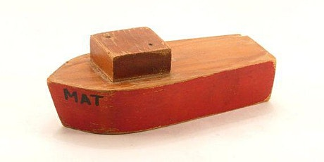 Wooden toy boat tickets