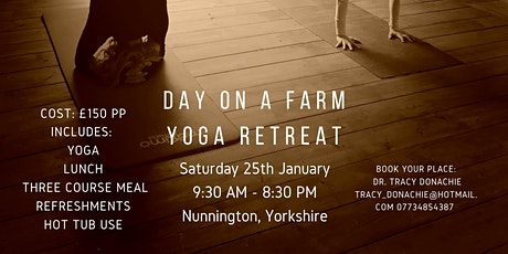 Day on the Farm Yoga Retreat: New Year, Be You! tickets