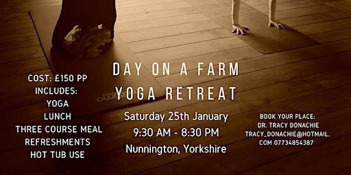 Day on the Farm Yoga Retreat: New Year, Be You!