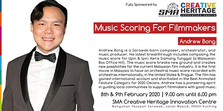 Music Scoring For Filmmakers Workshop tickets