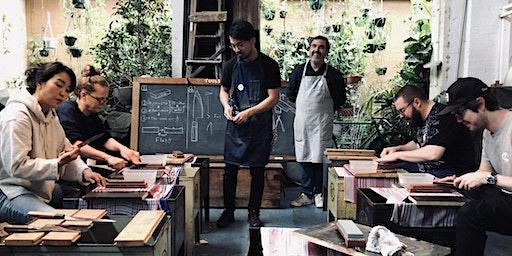 MUJUN Knife Sharpening Workshop @ TIME & STYLE Amsterdam