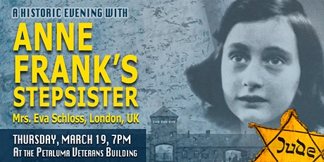 An Historic Evening with Anne Frank's Step-Sister tickets