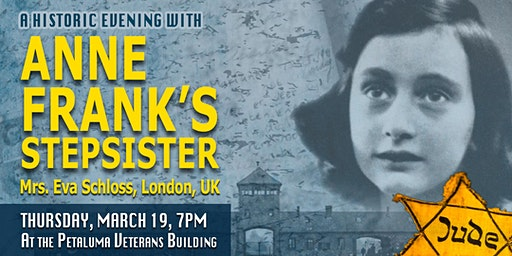 An Historic Evening with Anne Frank's Step-Sister