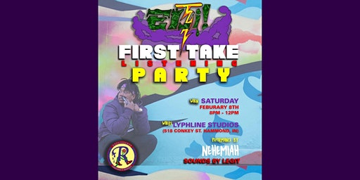 Eli! First Take Listening Party RSVP