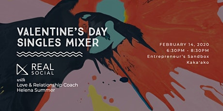 REAL Social | Valentine's Day Singles Mixer tickets