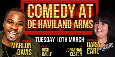 Comedy at De Havilland Arms
