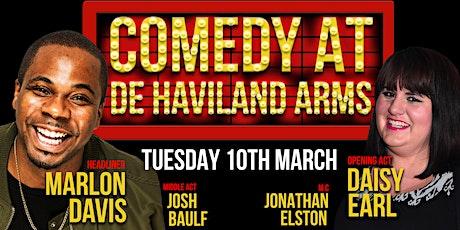 Comedy at De Havilland Arms tickets