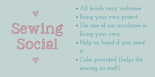 Sewing Social- all levels warmly welcomed