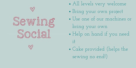 Sewing Social - all levels welcome! tickets