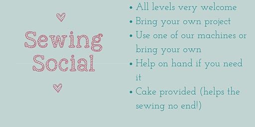 Sewing Social - all levels welcome!