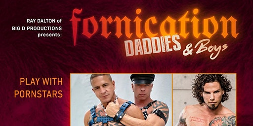 FORNICATION FTL - MARCH 14  2020 , is a Drug-Free Mens event