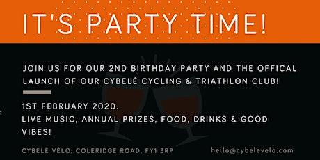 Cybelé 2nd Birthday & Triathlon / Cycling Club Awards tickets