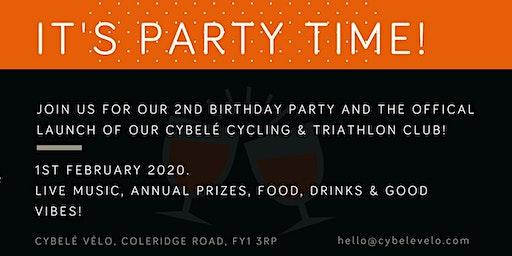 Cybelé 2nd Birthday & Triathlon / Cycling Club Awards