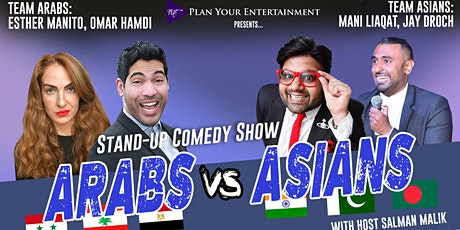Arabs vs Asians Standup Comedy Show ( Croydon) tickets