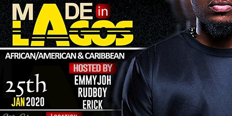 MADE in LAGOS Afro Carribean  Vibez tickets