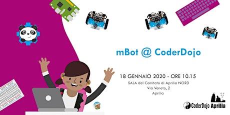 CoderDojo Aprilia - 18 Gennaio 2020 - mBot @ CoderdojoAprilia biglietti