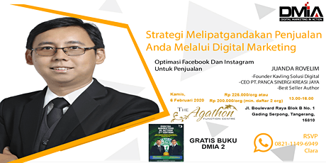Strategi melipatgandakan penjualan anda melalui Digital Marketing tickets