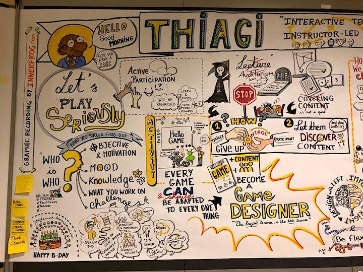 Image pour ANNULÉ !! Boostez votre efficacité en formation avec Thiagi à Bruxelles