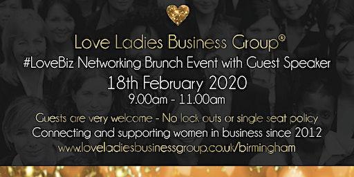 Birmingham #LoveBiz Networking Brunch Event at The Ivy