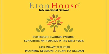 Curriculum Dialogue Morning Session - 23rd January 2020 tickets