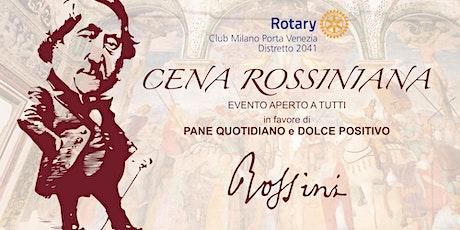 Cena Concertante alla Rossini biglietti