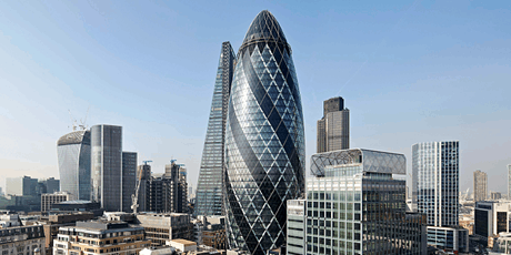 London Built Environment's April 2020 Property + Related Sectors Networking Reception at The Famous Gherkin tickets
