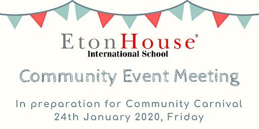 Community Event Meeting