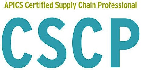 CSCP- International Supply Chain Certification Training tickets