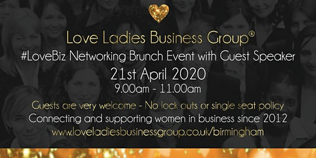 Birmingham #LoveBiz Networking Brunch Event at The Ivy tickets