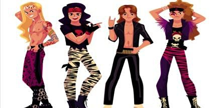 80's Glam Rock Night