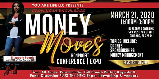 """Money Moves"" Nonprofit Conference/Expo"