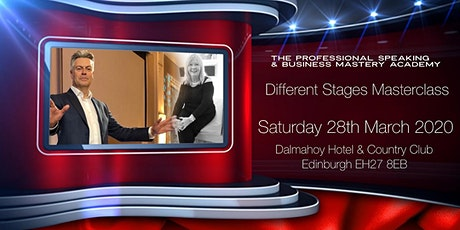 The Professional Speaking & Business Mastery Academy Masterclass - Different Stages!  tickets