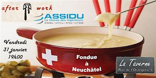 """After-work """"Fondue"""" de l'antenne Suisse des diplômés UTBM"""