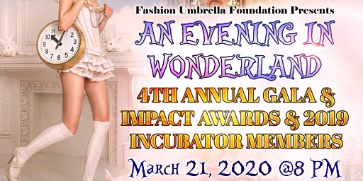 """An Evening In Wonderland"" Fundraising Gala (4th Annual)"