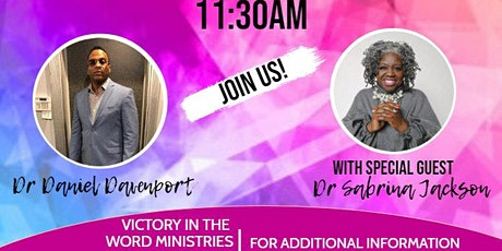 Victory Presents Dr. Sabrina Jackson tickets