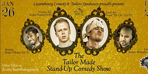 English Comedy Show ft. Jordan Brookes (UK)
