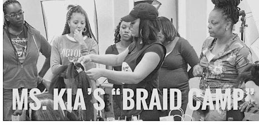 Ms. Kia's Beginners Braid Camp